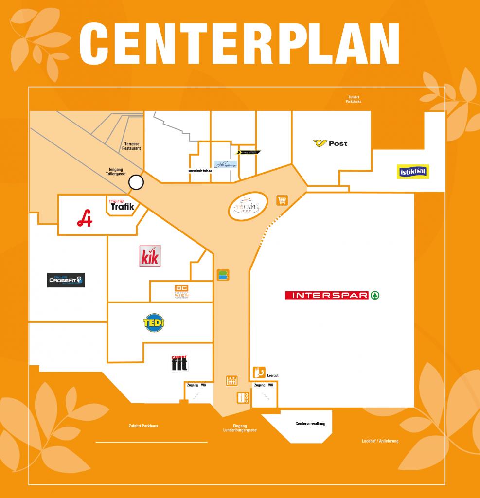 Trillerpark Centerplan